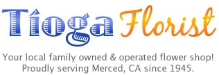 Merced California Florist Logo