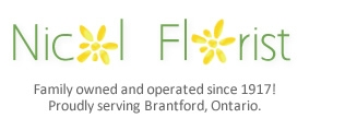 Brantford ON Flower Shop Local Delivery Logo Image