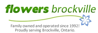 Flower Delivery Brockville Ontario Flowers Logo Image