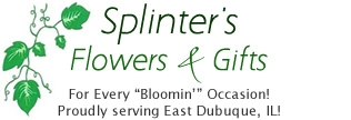 East Dubuque Florist Logo