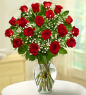 Rose Elegance™ Premium Red Roses - 18