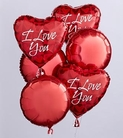 The FTD® I Love You Balloon Bunch