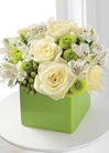 White Roses and alstoemeria