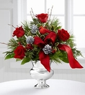 The FTD® Silver Tidings™ Bouquet