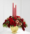 The FTD® Holiday Traditions™ Centerpiece