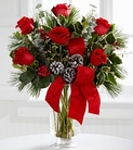 The FTD® Holiday Rose Bouquet
