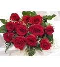 12 Premium Long Stem Select Red Roses