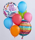 The FTD® Get Well Balloon Bunch