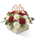 The FTD® Colors of Christmas™ Basket