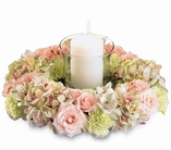 The FTD® Circle of Light™ Centerpiece