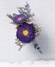The FTD® Purple Dusk™ Boutonniere