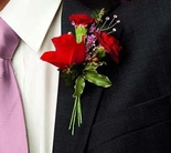 The FTD® Slow Dance™ Boutonniere