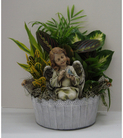 Cherished Angel Planter