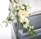 The FTD® Elegant Remembrance™ Casket Adornment