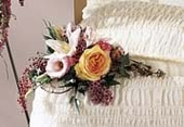 The FTD® Sweetly Rest™ Casket Adornment