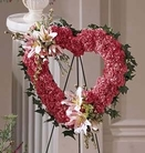 The FTD® Our Love Eternal™ Heart Wreath