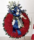 The FTD® All-American Tribute™ Wreath