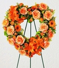 The FTD® Hearts Eternal™ Wreath