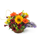 Sunflowers, Gerbera Daisies, and Lilies