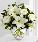 The FTD® White Elegance™ Bouquet by Vera Wang