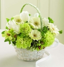 The FTD® Fresh Picked™ Flower Girl Basket