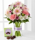 The FTD® Sweeter Than Ever™ Bouquet with Chocolates