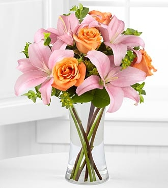 The FTD® Heart's Blush™ Bouquet