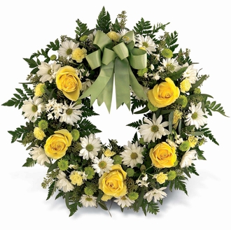 The FTD® Welcome to Spring™ Wreath