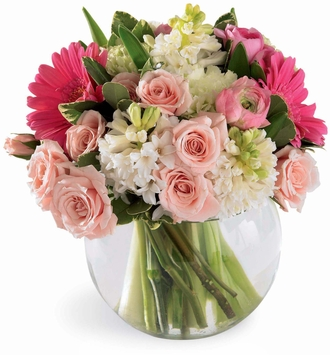 The FTD® Pink Splendor™ Bouquet