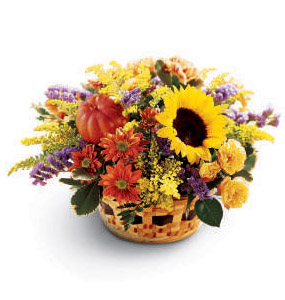 The FTD® Autumn Medley™ Basket