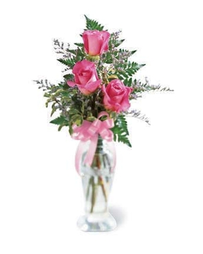 The FTD® Triple Delight™ Rose Bouquet