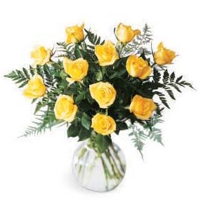 The FTD® Premium Yellow Rose Bouquet