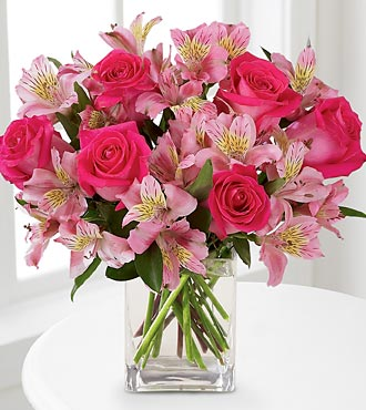 The FTD® Dreamland Pink™ Bouquet