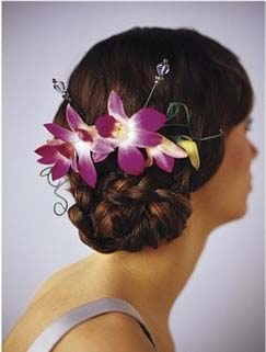 The FTD® Elegant Orchid™ Headpiece