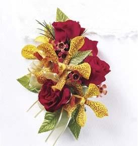 The FTD® Orchid Rose™ Wrist Corsage
